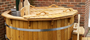 Larch / Spruce Hot Tub