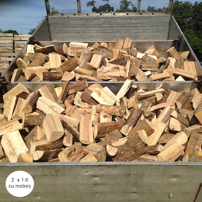 SEASONED LOGS - Hardwood Loose. Bulk delivery