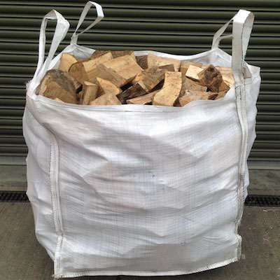 SEASONED LOGS - TOP PREMIUM ASH WOOD - Bulk Bags