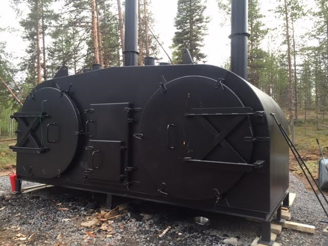 Sweden new RT1600 retort delivered