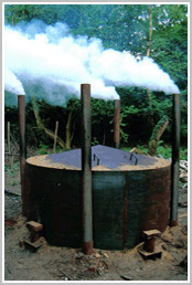 Charcoal Kilns Retort And Wood Kiln Dryer