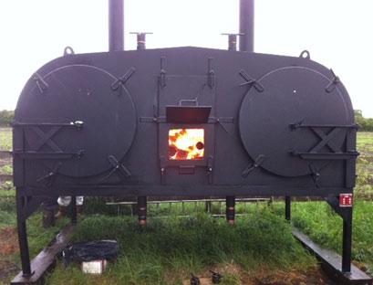 Charcoal Retorts Retort And Wood Kiln Dryer